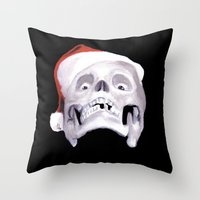 Black XMas. Bastard Son … Throw Pillow