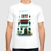 dream of Venice Mens Fitted Tee White SMALL