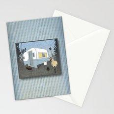 Travel Trailer Sandhill Crane Stationery Cards