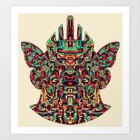 Dimensional Traveller I Art Print