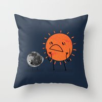 Ultimate Mooning Throw Pillow