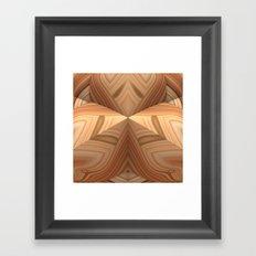 Woodgrain Framed Art Print