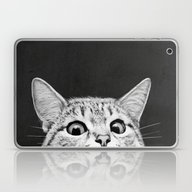 Laptop & iPad Skin featuring You Asleep Yet? by Laura Graves