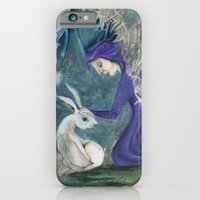 iPhone & iPod Case featuring Witch and Hare by Maria Forrester