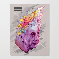 Mr. Einstein Canvas Print