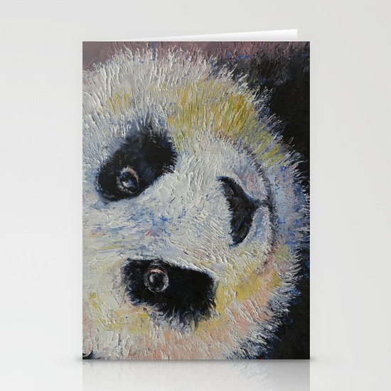 Panda Smile Stationery Card