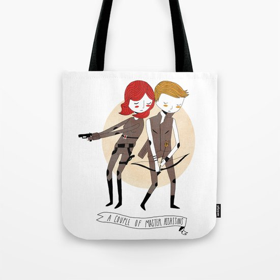 A Couple of Master Assassins Tote Bag