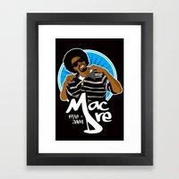 Andre 'Mac Dre' Hicks Framed Art Print