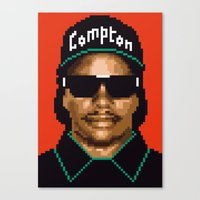 Compton City G Canvas Print
