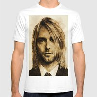 Kurdt Mens Fitted Tee White SMALL