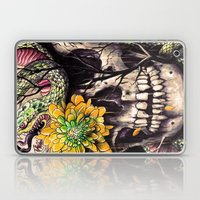 Snake and Skull Laptop & iPad Skin