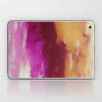 Cherry Rose Painted Clouds Laptop & iPad Skin
