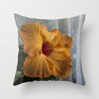 Dallas Conrad And Curtai… Throw Pillow