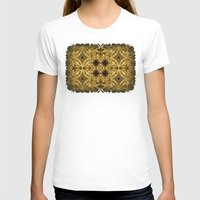 Cirubia Tablet Womens Fitted Tee White SMALL