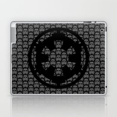 Stormtroopers and Imperial Cog in Gray Laptop & iPad Skin