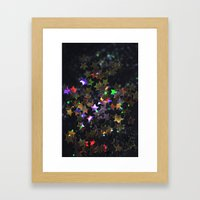 Starry Starry Night Neon (1) Framed Art Print