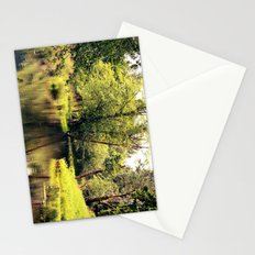 a tree by the river Stationery Cards