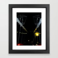 Yellow Light Framed Art Print