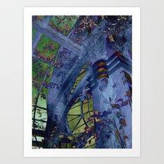 Inverted World Art Print