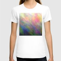 4-D Womens Fitted Tee White SMALL