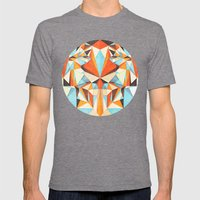 Numa Mens Fitted Tee Tri-Grey SMALL