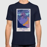 Dalaran Classic Rail Pos… Mens Fitted Tee Navy SMALL