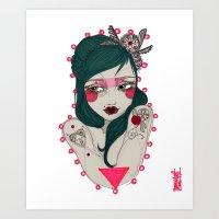 Taluna Art Print