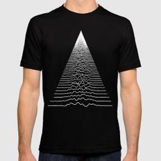 Wave Form Black SMALL Mens Fitted Tee