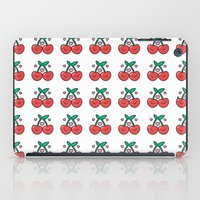 Cherry Pattern iPad Case
