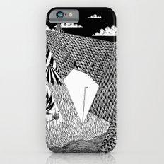 Bird Crossing over the full moon iPhone 6 Slim Case