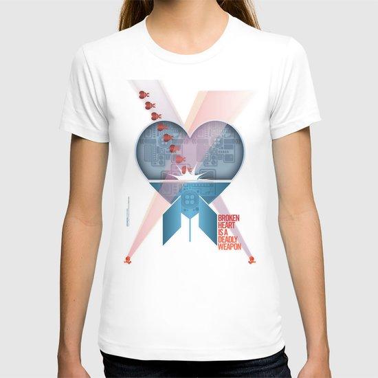Broken Heart Is A Deadly Weapon T-shirt