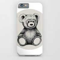 iPhone & iPod Case featuring Teddy Bear by Nicole Cioffe