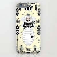 iPhone & iPod Case featuring Lady Honey by LadyTiz
