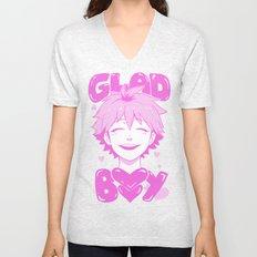 GLAD BOY Unisex V-Neck
