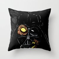 Darth Vader Zombie Throw Pillow