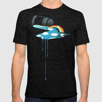 Sky in a Jar Mens Fitted Tee Tri-Black SMALL