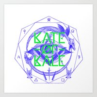 Kate Of Kale's All Seein… Art Print