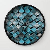 SquareTracts Wall Clock