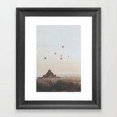 Bagan V Framed Art Print