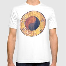 Rust and Memories Mens Fitted Tee SMALL White