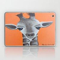 Baby Giraffe Orange Prin… Laptop & iPad Skin