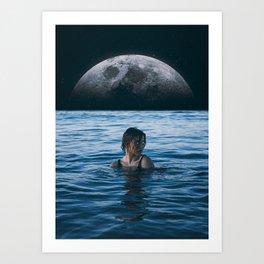 Art Print - Moon River - Seamless
