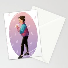 Bubble Tea Stationery Cards
