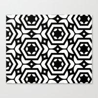 Vogelaar Black & White P… Canvas Print