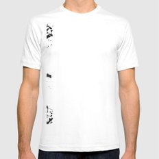 BETWEEN Mens Fitted Tee White SMALL