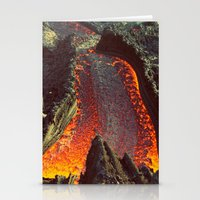 Active Volcano In Guatem… Stationery Cards