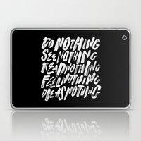 AS NOTHING Laptop & iPad Skin