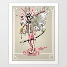 Sword of the Swans Art Print