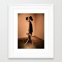 Hang Your Coat Up Framed Art Print