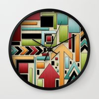 Retro Junk. Wall Clock
